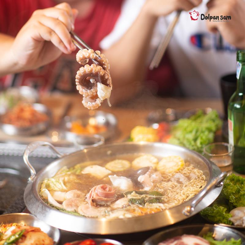 Dolpan Sam - Nướng Bàn Đá Hàn Quốc