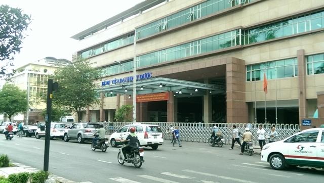 Bệnh viện Đại học Y Dược Thành phố Hồ Chí Minh nhìn từ bên ngoài