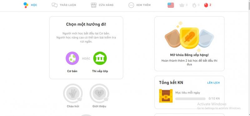 Doulingo.com là một trang web khá thú vị cho việc học Tiếng Anh của bạn