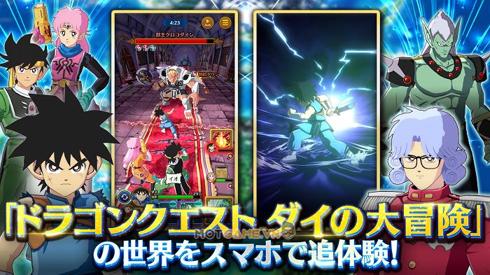 DQ Dai: A Hero's Bonds: Game nhập vai 3D lấy nội dung từ siêu phẩm Dragon Quest