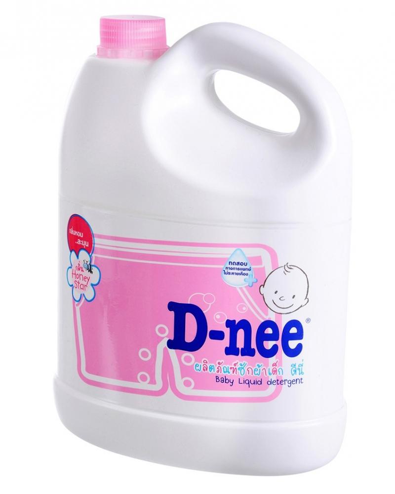 Dung dịch giặt quần áo D-nee Hồng