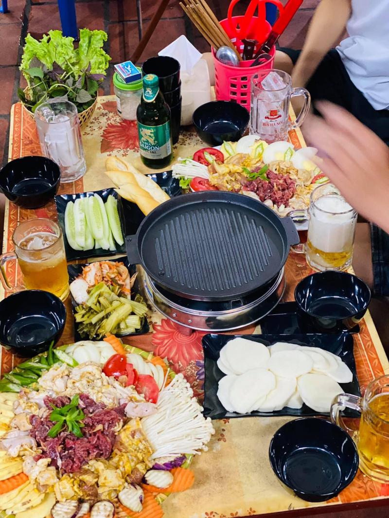 Top 10 Quán nướng chảo gang ngon nhất tỉnh Thái Nguyên