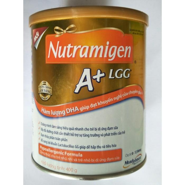 Sữa Nutramigen LGG- dĩnh dưỡng đặc biệt cho trẻ dị ứng đạm sữa bò.