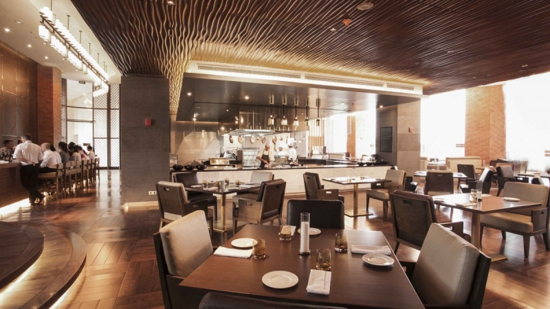 Không gian tại French Grill Restaurant - JW Marriott Hotel Hanoi