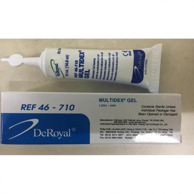 Gel điều trị vết loét Deroyal Multidex REF46-710