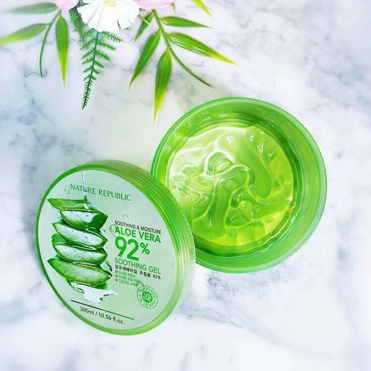 Gel Lô Hội Nature Republic Soothing & Moisture Aloe Vera 92% Soothing Gel