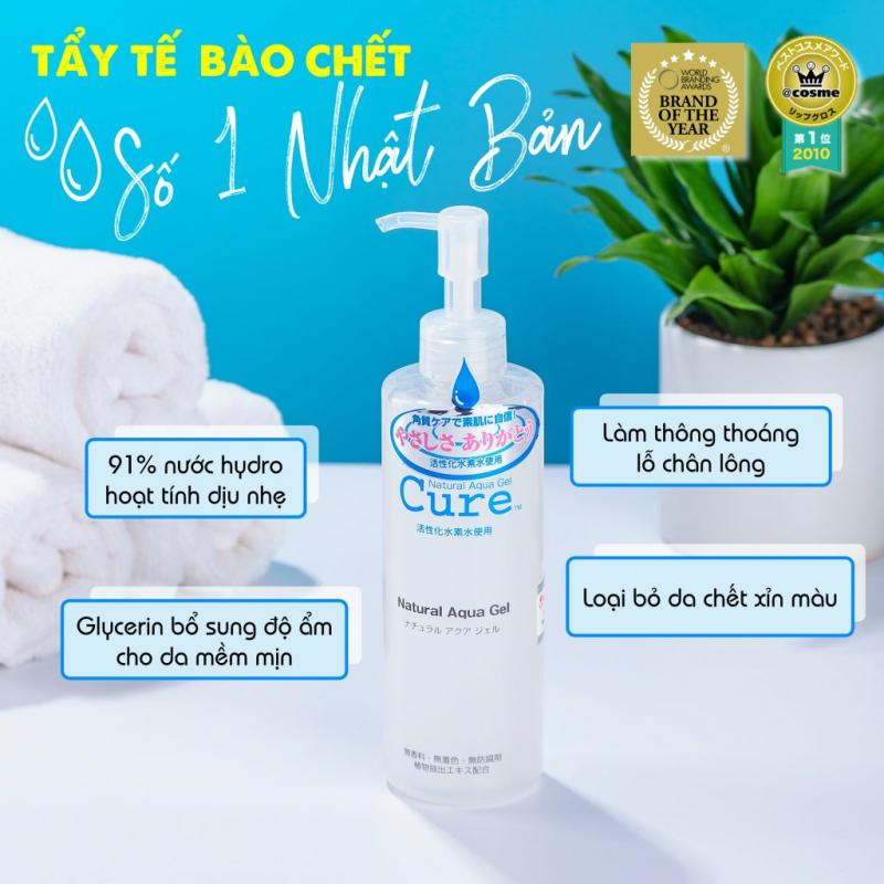 Gel Tẩy Tế Bào Chết Natural Aqua Gel Cure