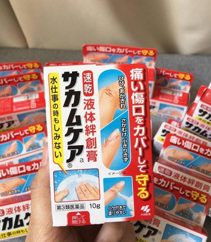 Gel trị xước tay, trị đứt tay Sakuma Nhật Bản
