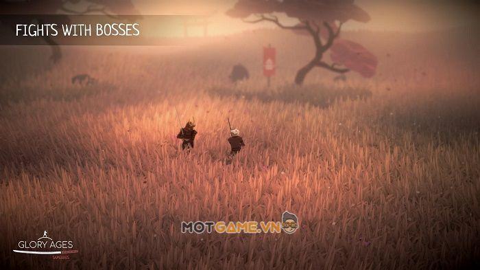 Glory Ages – Samurais: Tựa game có bối cảnh thời trung cổ mang đậm bản sắc Nhật Bản.