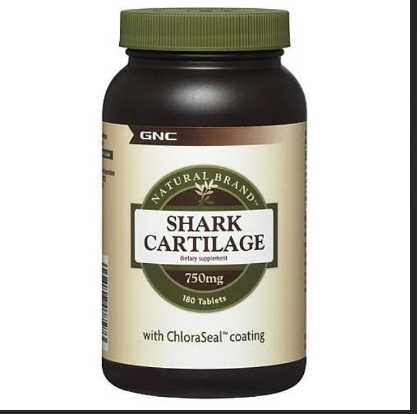 GNC Natural Brand Shark Cartilage 750 mg