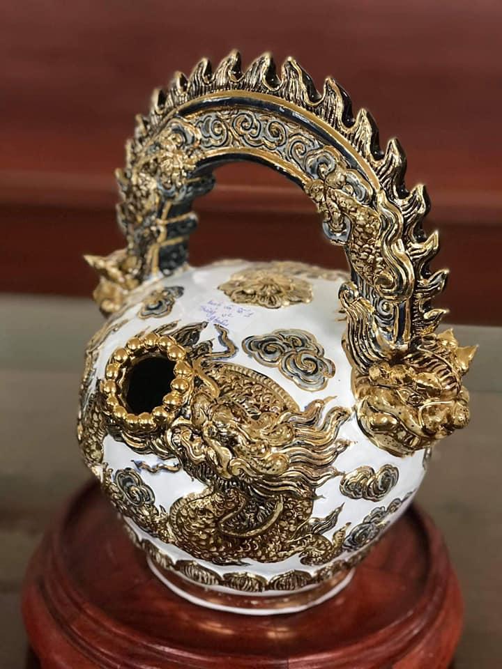 Gốm sứ phong thủy Hoàng Hùng