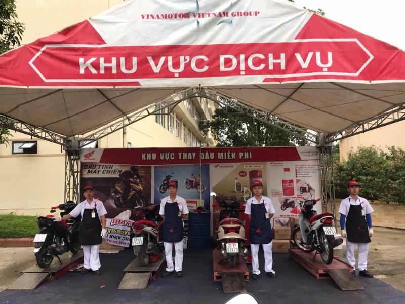 Top 9 Trung tâm bảo dưỡng xe máy Honda uy tín nhất tỉnh Thái Nguyên