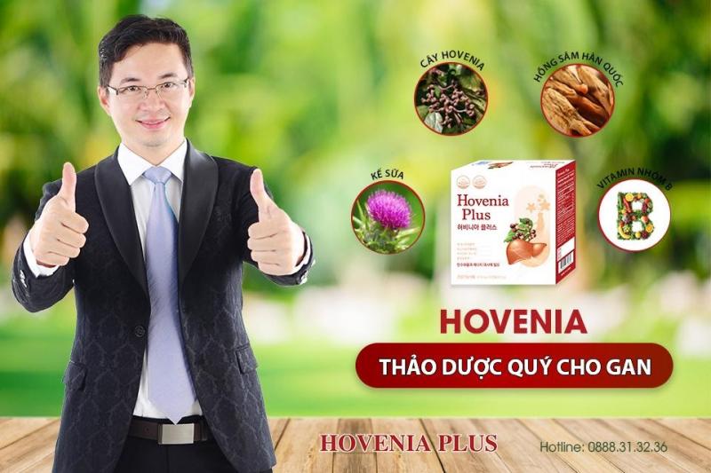 Viên uống Bổ gan, giải rượu Hoveniaplus