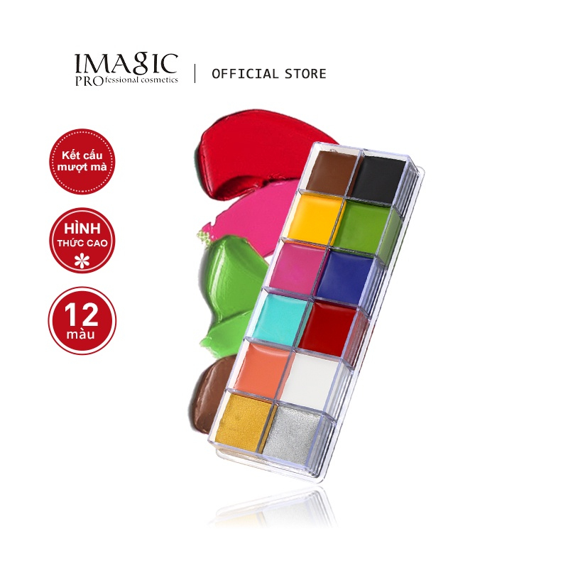 IMAGIC Halloween Face Body Paint Oil Painting Art Make Up Set Tools Party Fancy Dress