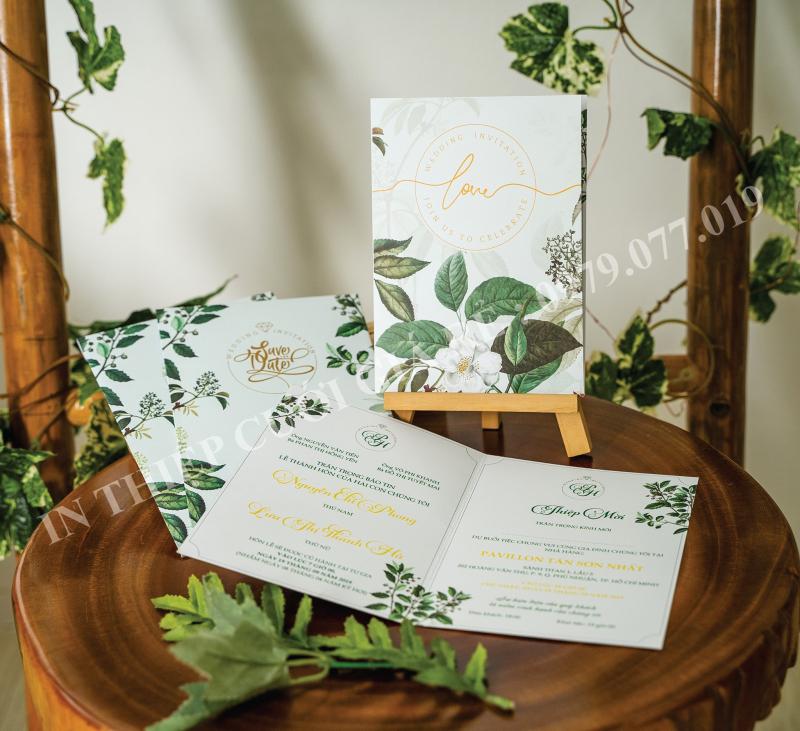 In Thiệp Cưới Giá Rẻ Tp.HCM cung cấp dịch vụ in thiệp đẹp, giấy dày, màu và mực sắc nét