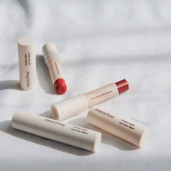 Innisfree Simple Label Lip Color Balm