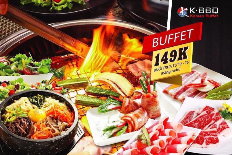 Thực đơn của K BBQ gần 200 món đến từ các nền ẩm thực hàng đầu thế giới