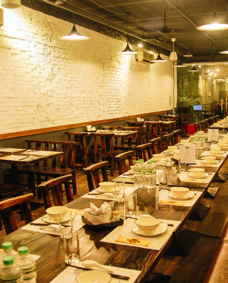 Kampong Chicken House - Đào Tấn có không gian sang trọng, đẳng cấp