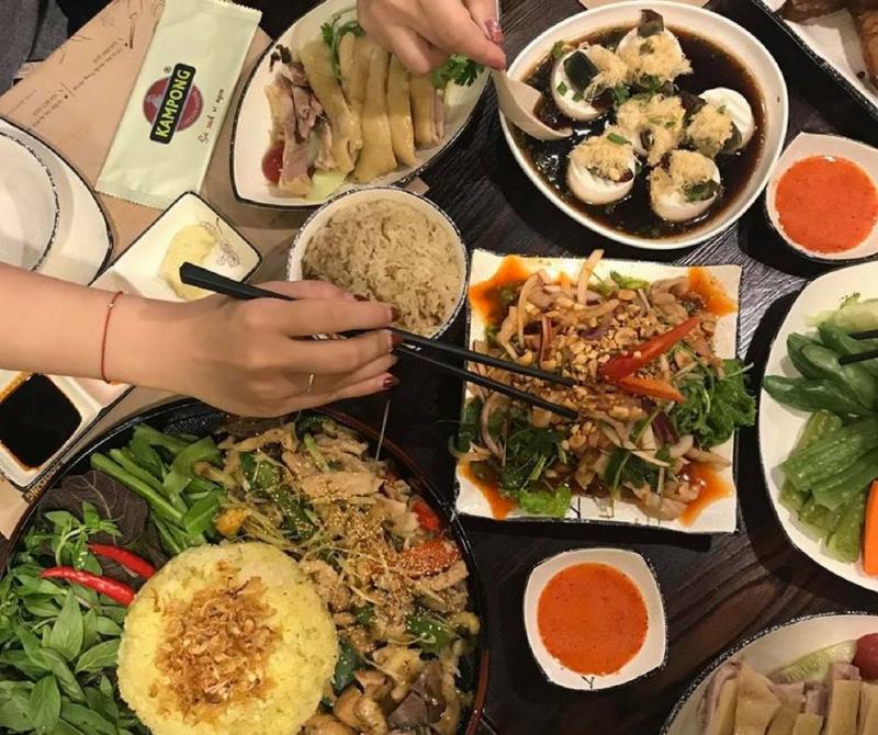 Những món ngon ở Kampong Chicken House rất phong phú và đa dạng