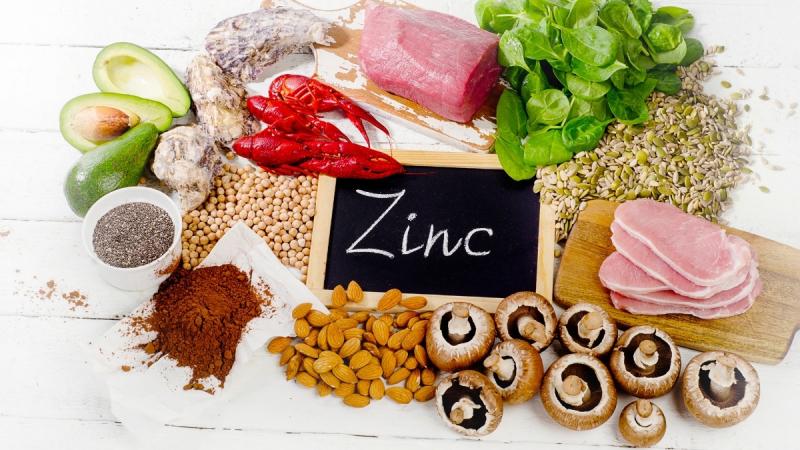 Bổ sung thực phẩm giàu Zn