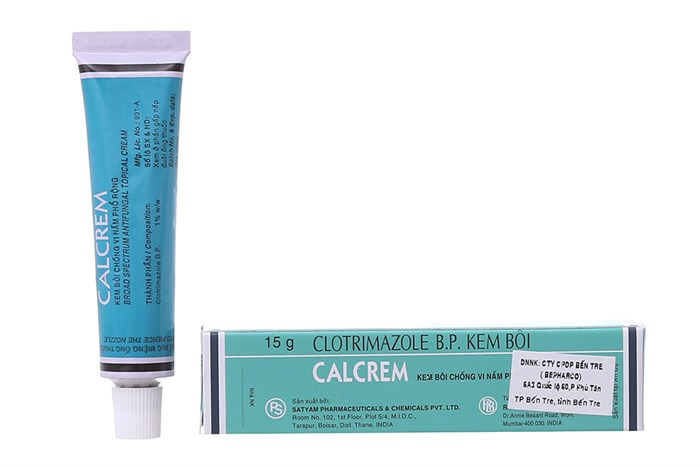 Kem bôi trị nấm da Calcrem 1%
