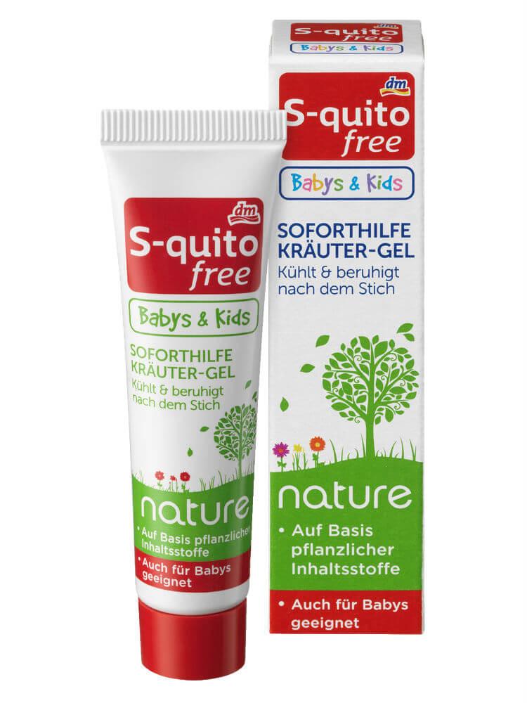 Kem đặc trị muỗi đốt và côn trùng cắn S-quito Free