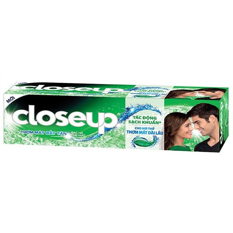 Kem đánh răng bạc hà thơm mát bất tận Closeup (140g)