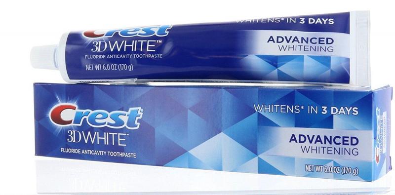 Kem đánh răng Crest 3D White 198g của Mỹ
