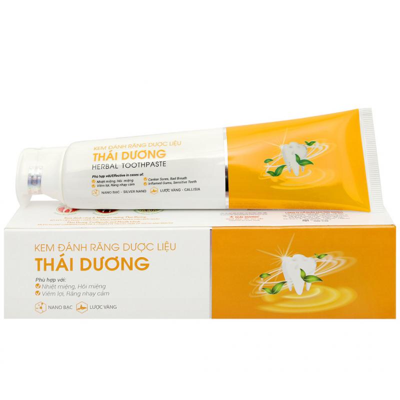 Kem đánh răng dược liệu Sao Thái Dương 150g