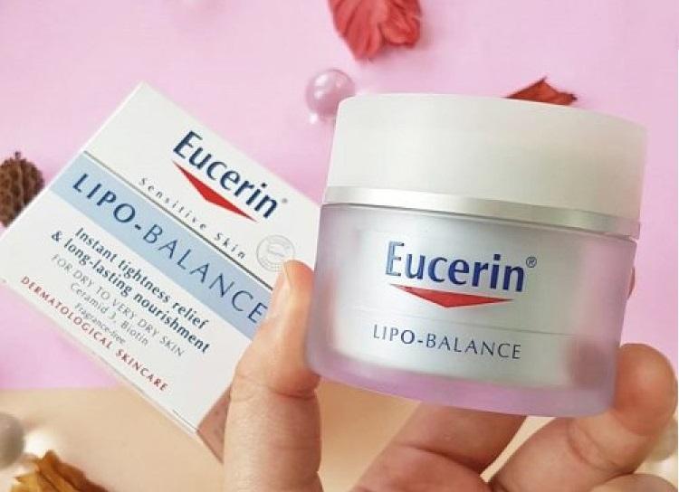Kem dưỡng ẩm cho da mặt Eucerin Lipo Balance 50ml