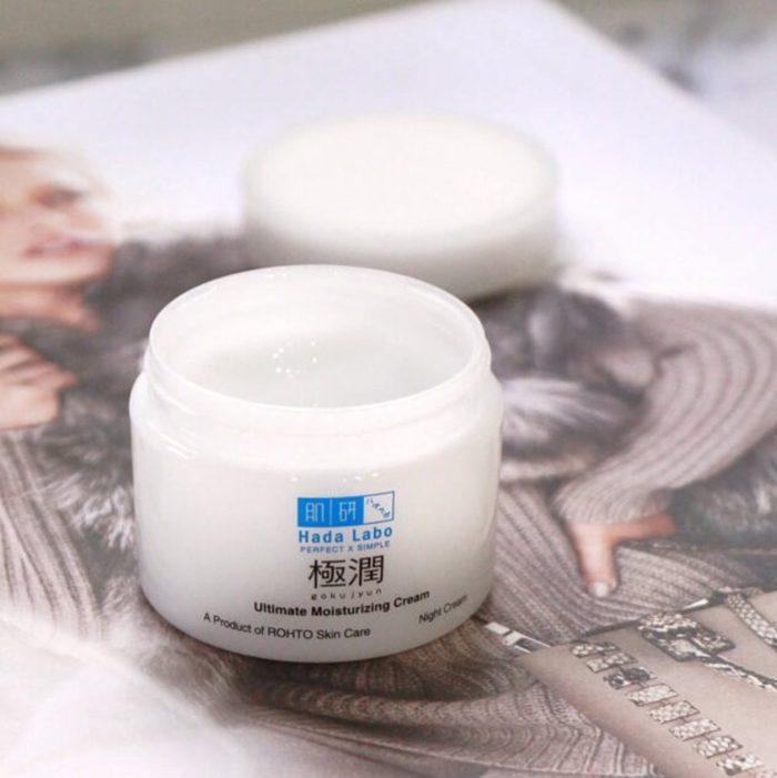 Kem dưỡng ẩm Hada Labo gokujyun hyaluronic cream