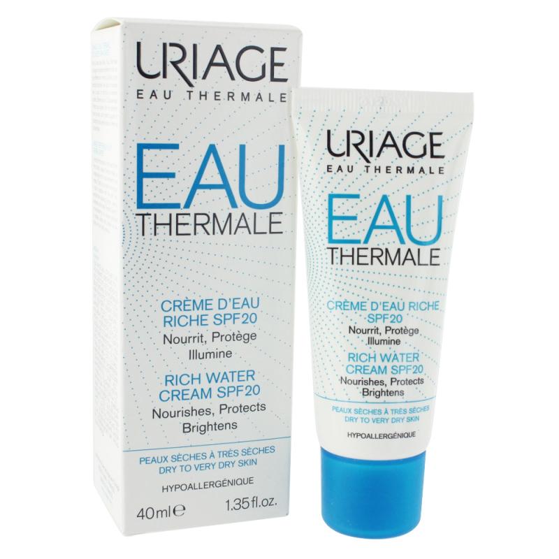 Kem dưỡng ẩm khoáng chuyên sâu Uriage cho da nhờn, da hỗn hợp,da thường EAU THERMALE CREME D'EAU T 15ml