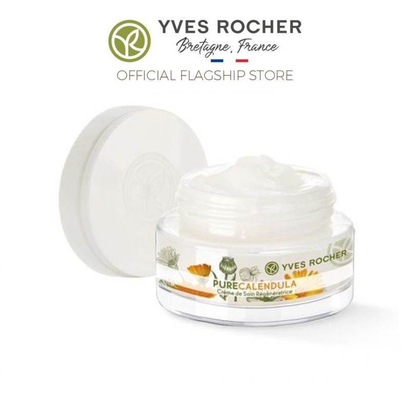Kem dưỡng da ngày và đêm Yves Rocher Calendula Regenerating Day Night Cream 50ml