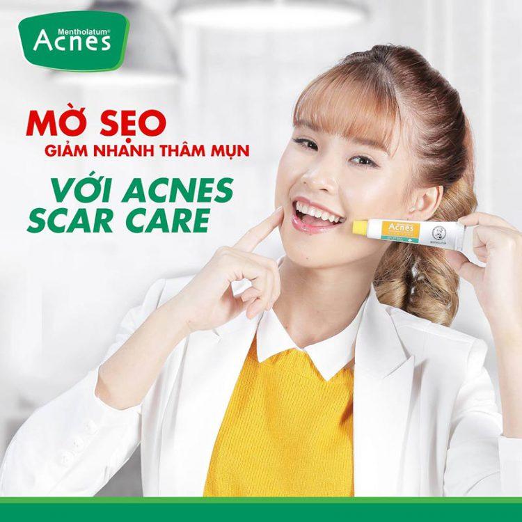 Gel mờ vết thâm và liền sẹo Acnes Scar Care