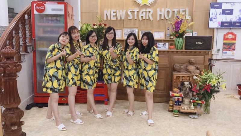 Khách sạn có vị trí vô cùng thuận lợi, chỉ cách bãi biển Sầm Sơn khoảng 30m