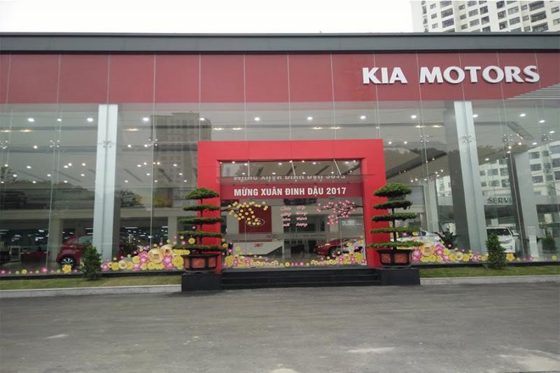 showroom Kia Phạm Văn Đồng