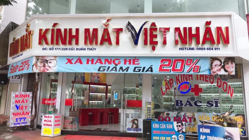 Kính Mắt Việt Nhãn