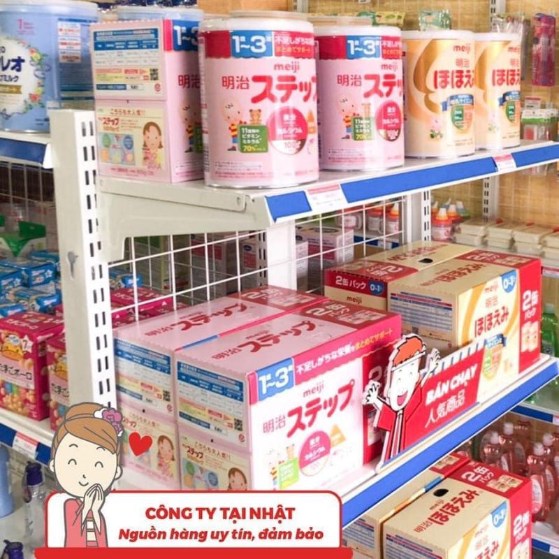 Một góc sữa nội địa Nhật tại Konni39 Lục Nam