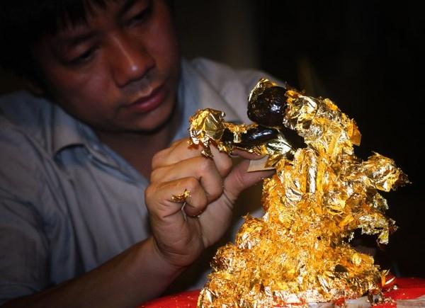 Làng dát vàng Kiêu Kỵ Gia Lâm - Hà Nội