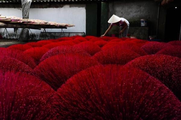 Nghề làm hương truyền thống ở làng Cao Thôn - Hưng Yên