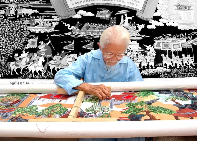 Làng nghề thêu ren Văn Lâm - Ninh Bình