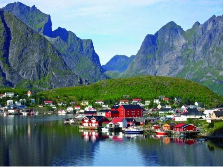 Vẻ đẹp yên bình của làng Reine