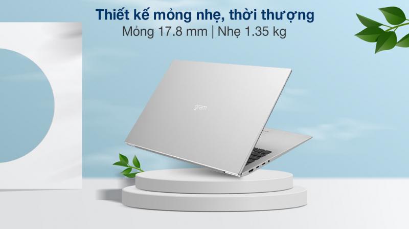 Laptop LG Gram 17 2021 i7