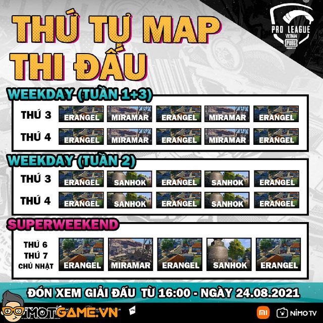 Lịch thi đấu PUBG Mobile Pro League Việt Nam Season 4