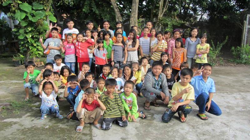 Lớp học tình thương Hòa Hảo nơi mang con chữ đến với trẻ em nghèo