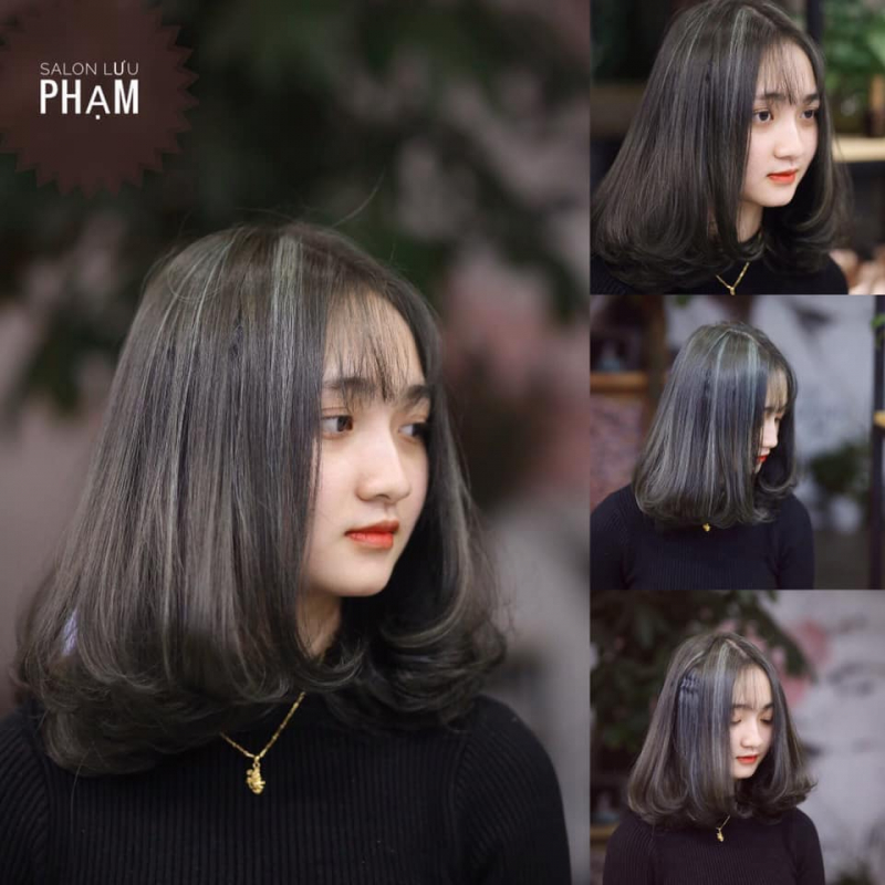Tóc nhuộm tại Lưu Phạm Hair & Academy