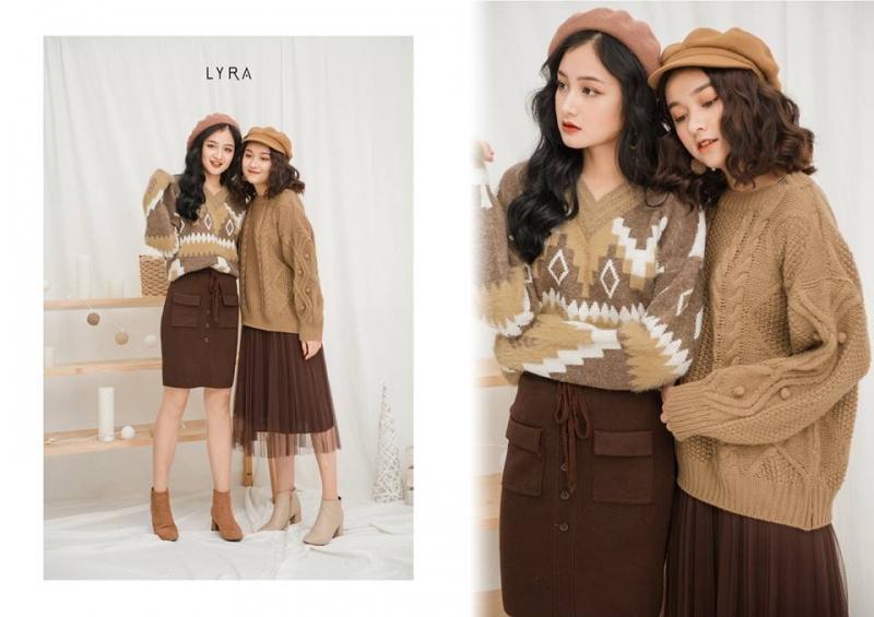 Top 5 Shop bán áo len nữ cổ tim đẹp nhất ở Hà Nội