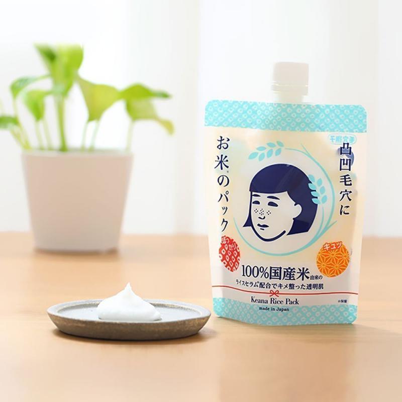 Mặt Nạ Cám Gạo Dạng Thoa Keana Rice Pack 170G
