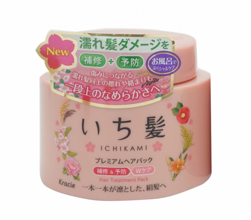 Mặt Nạ Ichikami Dưỡng Ẩm Tóc 180g Hair Treatment Pack