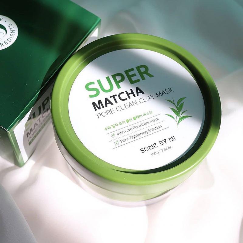 Mặt nạ dưỡng da Some By Mi Super Matcha Pore Clean Clay Mask